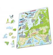 PUZZLE NATURE GEOGRAPHIQUE EUROPE