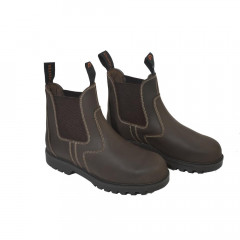 BOOTS COQUEES ADULTE MARRON