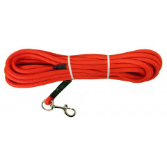 LONGE TUBULAIRE ORANGE 10M