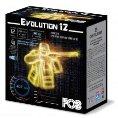 CARTOUCHES EVOLUTION 12/36G NI X25