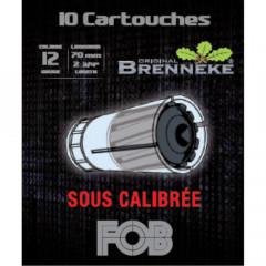 BALLES BRENNEKE SOUS CALIBREE CAL12