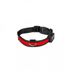 COLLIER LUMINEUX RECHARGEABLE ROUGE