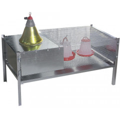 CAGE ELEVAGE POUSSIN