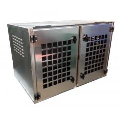 CAISSE A CHIEN DOUBLE 900X600X600