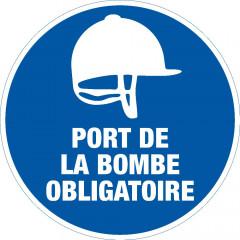 PANNEAU PORT DE LA BOMBE