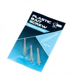 VRILLE ACROCHE APPAT PLASTIC X10