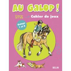 CAHIER DE JEUX AU GALOP G1-G2