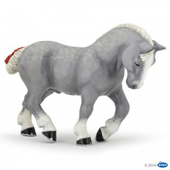 FIGURINE PERCHERON GRIS
