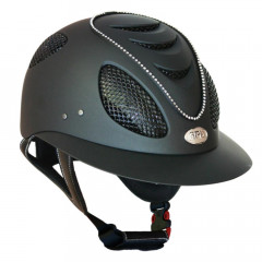 CASQUE FIRST LADY CRYSTAL 2X NOIR