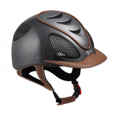 CASQUE SPEEDAIR CARBONE 2X CUIR CHATAIGN