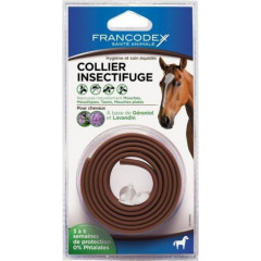 COLLIER INSECTIFUGE CHEVAL