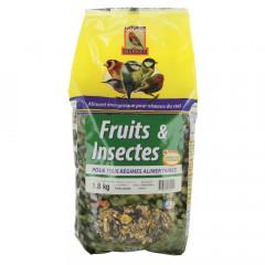 MELANGE FRUITS ET INSECTES