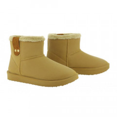 BOOTS FOURREES CAMEL