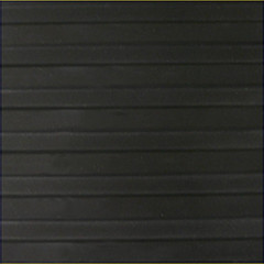 TAPIS RAINURES LARGES 6MM 1,2MX1M NOIR