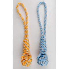 JOUET TRACTION ROPE BALLE XS 27CM