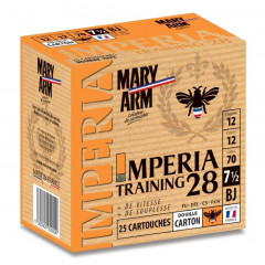 CARTOUCHES IMPERIA TRAINING 12/28G N7.5