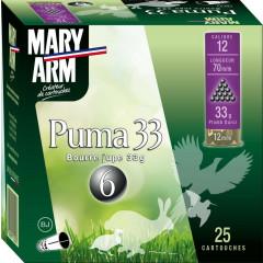 CARTOUCHES PUMA 33 12/33G