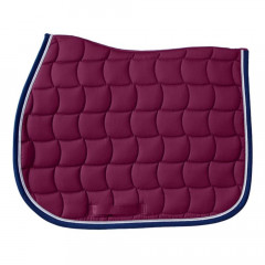 TAPIS CSO CHANTILLY BORDEAUX CHEVAL