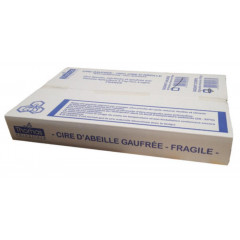 CIRE POUR DADANT CORPS GAUFREE X20