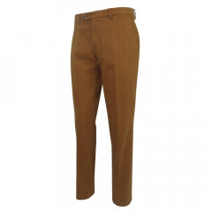 PANTALON CHINO MOUTARDE