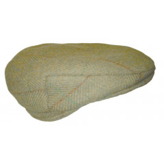 CASQUETTE TWEED LAINE GREEN
