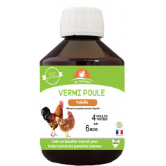 COMPLEMENT VERMI POULE 250 ML