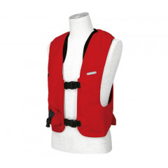 GILET AIRBAG COMPLET ROUGE