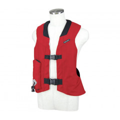 GILET AIRBAG LEGER ROUGE