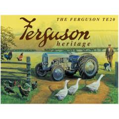 PLAQUE TRACTEUR FERGUSSON HERITAGE