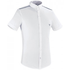 POLO HOMME AERIAL BLANC