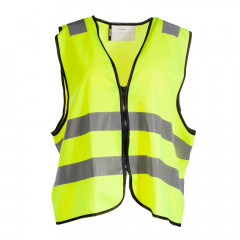 GILET DE SECURITE ZIPPE FLUO