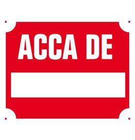 PANNEAU ACCA DE …