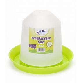 NOURRISSEUR PLASTIQUE ECO 5KG