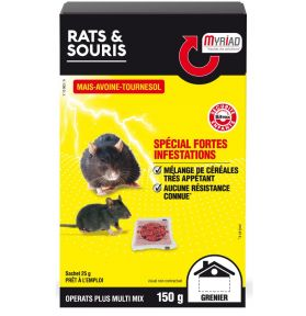 RATICIDE SOURICIDE MULTIMIX 150G