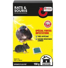 RATICIDE SOURICIDE OPERATS+ PATE150G