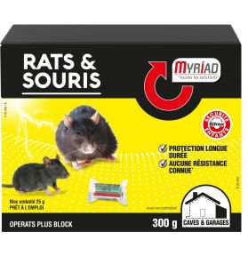 RATICIDE SOURICIDE OPERATS+ BLOC300G