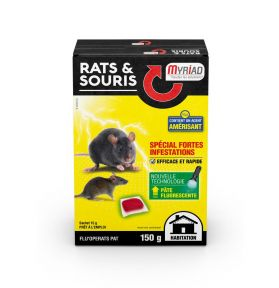 RATICIDE SOURICIDE FLU'OPERATS 150G