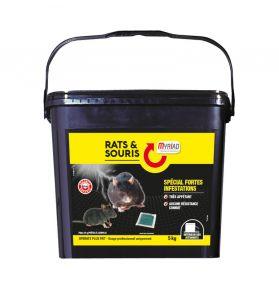 RATS/SOURIS OPERATS PLUS PATE 5KG