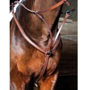 COLLIER DE CHASSE DOUBLE PONEY