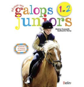 LIVRE REUSSIR GALOPS 1 A 2 JUNIOR