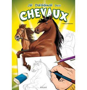 LIVRE JE DESSINE DES CHEVAUX