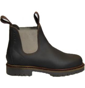 BOOTS HUILEES ADULTE MARRON