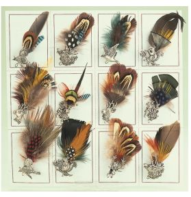 PLUMES DECORATIVES X12