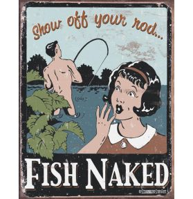 PLAQUE SCHONBERG FISH NAKED