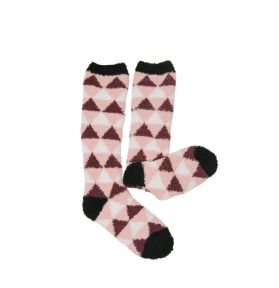 CHAUSSETTES SOFTIES TRIANGLES ROUGE