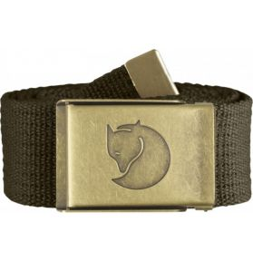 CEINTURE CANVAS MERANO OLIVE FONCE