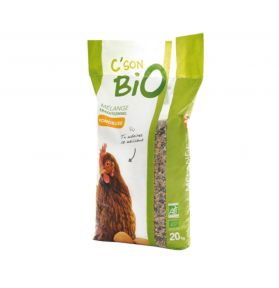 ALIMENT POULE PONDEUSE MIX BIO 20KG