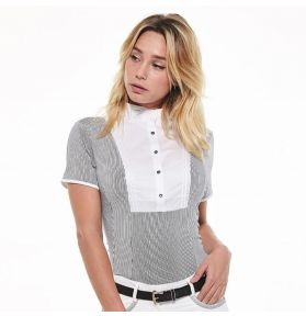 POLO CRYSTIE RIDER FEMME BLANC
