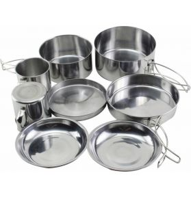 POPOTE 2 PERS INOX