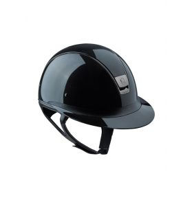 CASQUE MISS SHIELD GLOSSY NOIR